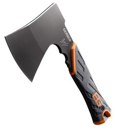 A small but powerful full-tang high-carbon stainless steel blade it's ideal for cutting firewood, from thick branches to feathering kindling. It stows inside a military grade, mildew resistant sheath which makes it easy to carry. Visit here:- http://www.marinews.com/boating-and-fishing-news/The-Handy-Hatchet/