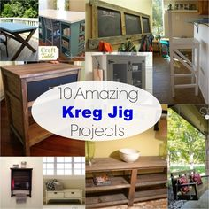10 amazing kreg jig projects