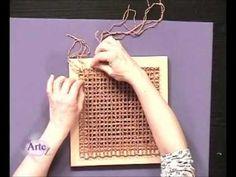 Como tejer un chal en telar cuadrado (PROCEDIMIENTO y PRODUCTOS)