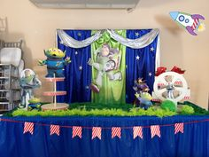 Buzz light year party ideas by Pink and blue