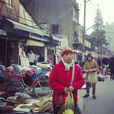 Shanghai fabric market #china #shanghai