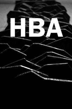 Black & White. Art. Illustration. Brand. HBA. Clean. Fashion. Clothing. Concept. Rough. Youth. Typography. Bricks. Dark. Line. Simple. Minimal. Print.