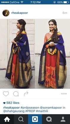 sonam kapoor anarkali courtesy: rhea kapoor instagram