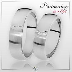 ❗ Partnerringe im Angebot ❗ 🔸 aus Edelstahl mit Schmucksteinen 🔸 inkl. Versand 🔸 inkl. Gravur 🔸 inkl. Ring-Etui 🔸 Nur 69€ / Paarpreis