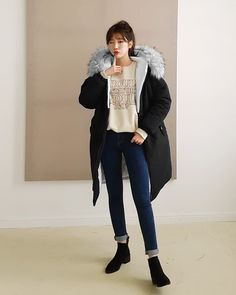 #Dahong #Soyeon daily F/W style 2018