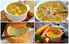15 vynikajúcich a rýchlych polievok, ktoré skvele zahrejú, zasýtia a pripravíte ich naozaj v momente. Z tejto ponuky si vyberiete vynikajúcu polievočku na každý deň. Chana Masala, Cheeseburger Chowder, Hummus, Cantaloupe, Soup, Lunch, Fruit, Ethnic Recipes, Homemade Hummus
