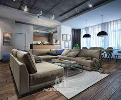 дизайн квартир, проект: GRAY, фото 1