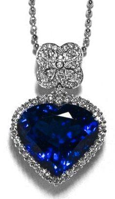 Blue Sapphire & Diamond