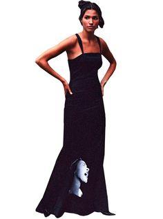 Billie Holiday Stretch Satin Maxi Dress Gown – IDILVICE