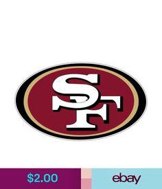 Decals, Stickers & Vinyl Art San Francisco 49Ers Nfl Football Logo Wall Window Car Bumper Vinyl Sticker Decal #ebay #Home & Garden