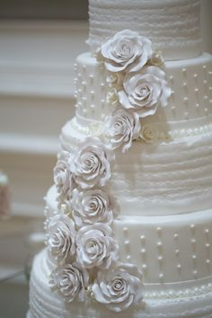Romantic Nevada Ballroom Wedding  Wedding Cakes Photos on WeddingWire