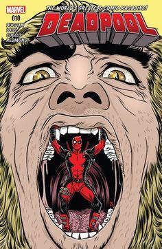 #Deadpool (2015) #10 #Marvel @marvel @marvelofficial (Cover Artist: Mike Allred) Release Date: 4/20/2016