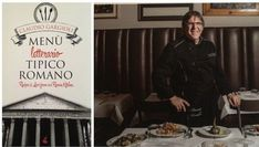 Claudio and his cookbook, which recounts the history of Armando al Pantheon through recipes.    Claudio Gargioli is in his kitchen six days a week, buttoned into his graphite hued chef's coat, occasionally emerging to greet regulars. You can see him from the dining room, moving around a broad