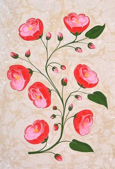 Fabric Painting, Painting Art, Ebru Art, Paper Cutting, Flower Designs, Coaster, Embroidery Patterns, Texture, Drawings