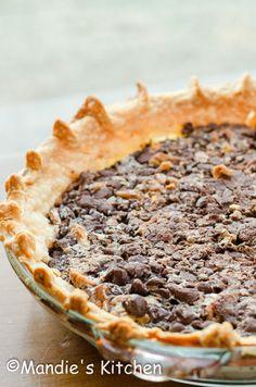 Grandma's Chocolate Pecan Pie