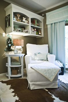 The nursery of my darling and Talented friend Emily McCarthy that  she created for her first born son Rhett
