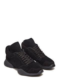new product f5142 e755e adidas by Rick Owens Vicious Suede Runner Rick Owens Adidas, Rick Owens  Sneakers, Mens