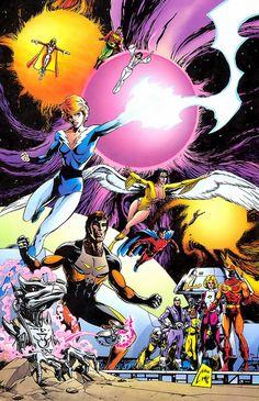 Legion of Super-Heroes by Steve Lightle