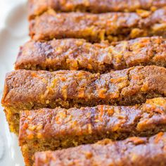 This is carrot cake that's been infused with apples and bakedas a loaf. So it's not cake anymore. It's bread. Therefore you can have more and definitely can have it for breakfast. Baking with both carrots and apples not only adds chewy texture and natural sweetness, but they addso much moisture thatit's impossible to have …