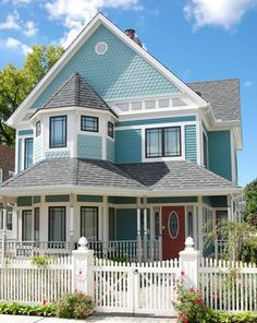 House Design Victorian Mesmerizing Modern Victorian House Design Victorian House Plans, Victorian Style Homes, Modern Victorian, Bedroom Floor Plans, 3d Home, My Dream Home, House Colors, Future House, Home Design