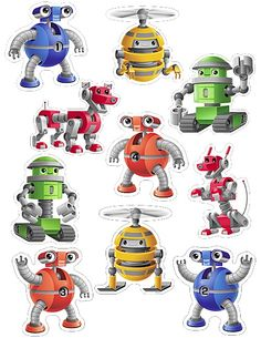 We love our new Robots themed products!