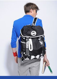Backpack for Female and Male! Unisex Sports Bag School Bag for Women and Men! Dropship Support!