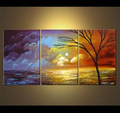 Unique Abstract art, Original Landscape Paintings and Modern Art by Osnat Tzadok
