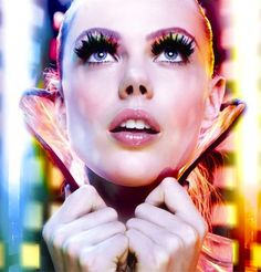 """leahcultice: """" Frida Gustavsson for Maybelline New York 2014 Calendar """""""