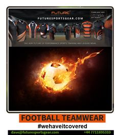 Football Teamwear! Fully sublimated/bespoke Kits supplied #value #quality 3 weeks Delivery/No Min Orders! #makeithappen with Future! Sponsorship Opportunities!