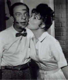 The Andy Griffith Show. Classic photo of Barney and Thelma Lou. B.W. 8x10   eBay