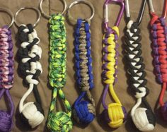 Paracord people keychain by DeesParacordCreation on Etsy