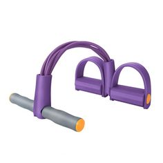 Ab Wheel Abdomen Round Abdominal Exerciser Pull Ups Abdomenizer Fitness Equipment Purple. Material:Environmental protection foam + Natural latex tube. Original length:about 56cm. Stretch length:about 1.5m. Elastic foam handle. Anti slip and wear resistant design. Package include: 1 x Ab Wheel. Fitness Equipment, No Equipment Workout, Ab Trainer, Ab Wheel, Best Abs, Natural Latex, Tube, Handle, Purple