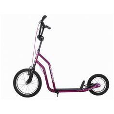 """koloběžka Zenit 15 16""""+12"""" fialová Stationary, Gym Equipment, Bike, Sports, Bicycle, Hs Sports, Bicycles, Workout Equipment, Sport"""