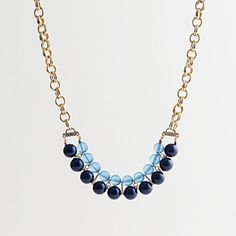 j.crew factory art deco necklace