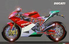 DUCATI 1000 F1 by obiboi on DeviantArt
