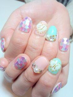 • kawaii pastel 3d nails daisyhoplininhignest •