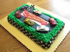 Hot Wheels Birthday Cake By BethRose84 on CakeCentral.com