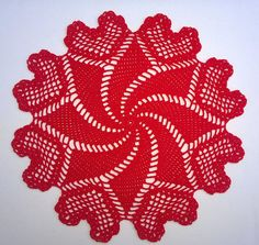 11 round red hearts crochet lace doily. Valentines day decor. Lovely lace accent to any room in your home or perfect gift for Valentines day. I crochet in the house where there is no smoking. Care instructions: Hand wash ,squeeze dry, DO NOT wring, NO BLEACH Lay flat to dry. Iron