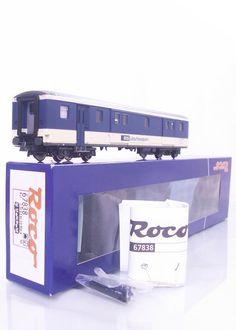 MINT #ROCO 67838 - #HOGAUGE MODEL TRAINS - #SWISS BLS LIVERY BOGIE BAGGAGE VAN
