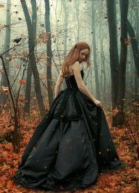 Осенняя фотосессия в лесу 2