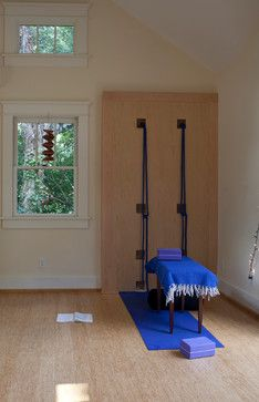 Reclaimed Wood Love: Hillsboro/West End Residence eclectic home gym