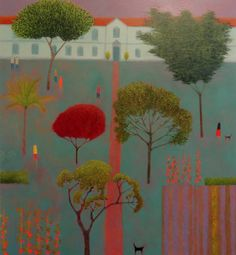 Emma Brownjohn's recent paintings