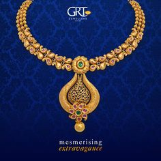 A #golden #era of #cultural #finery has dawned...#Embrace the vibrant hues and a flawless #paisley #design that you can never go wrong with! - #mesmerising #extravagance - #Antique #Gold #Ethnic #Necklace #Jewellery #Vintage #Collection