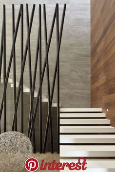 super ideas for floating stairs design railings Modern Stair Railing, Stair Handrail, Modern Stairs, Staircase Design, Interior Stairs, Interior Architecture, Interior And Exterior, Interior Work, Interior Design