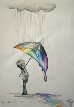 Please don't wash away the colors....