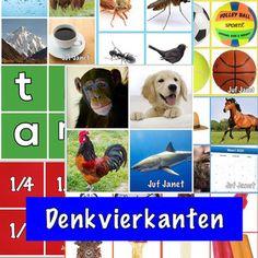 Denkvierkanten - De website van vouwjuf!