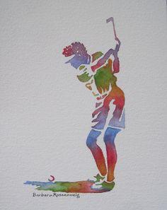 Golf Kunst  #kunst #art #kgc #golf #golfer #golfen #dekoration