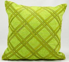 Natural Leather and Hide Leather hrow Pillow