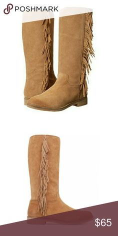 Fringe boots NWT Brand new. Lucky Brand Shoes Ankle Boots & Booties