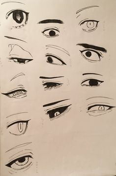 Body Drawing Tutorial, Eye Drawing Tutorials, Drawing Face Expressions, Art Drawings Sketches Simple, Random Drawings, Eye Drawings, Pencil Art Drawings, Anime Sketch, Eye Sketch
